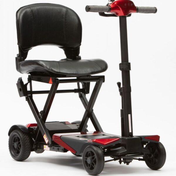 4 Wheel Manual Folding Scooter
