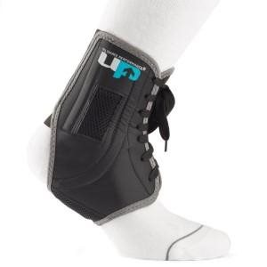 The Ultimate Performance Ankle Brace provides maximum support to sports players while still allowing you to run, jump and turn without restriction.